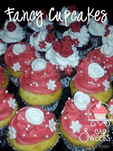 Fancy Bridal Shower Cupcakes 1