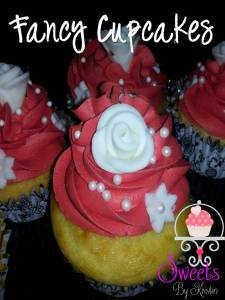 Fancy Bridal Shower Cupcakes 2