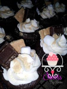 S'More Cupcake With Logo2
