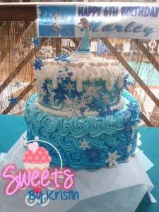 Elsa Cake