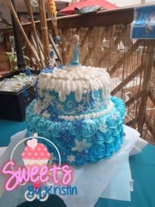 Elsa Cake 3