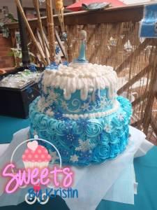 Elsa Cake 4