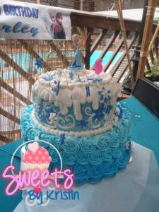 Elsa Cake 5