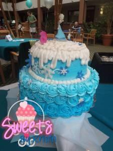 Elsa Cake 6