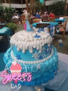 Elsa Cake 8