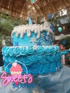 Elsa Cake 9