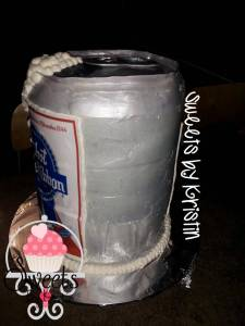 Pabst cake With Logo2