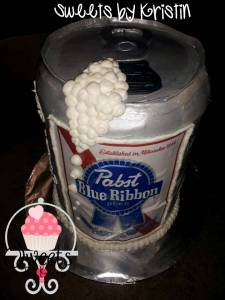 Pabst cake With Logo3