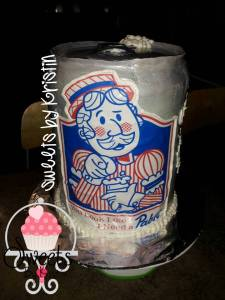 Pabst cake With Logo4