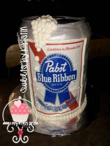 Pabst cake With Logo5