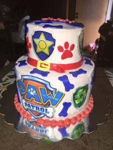 OWEN Paw Patrol Cake 2