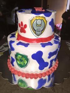 OWEN Paw Patrol Cake 3