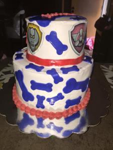 OWEN Paw Patrol Cake 4