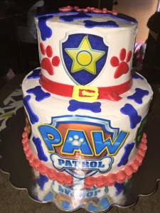 OWEN Paw Patrol Cake 5