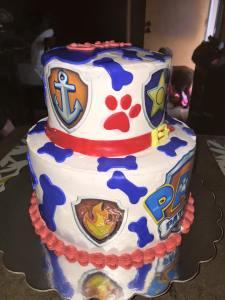 OWEN Paw Patrol Cake 6
