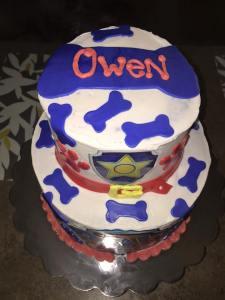 OWEN Paw Patrol Cake 8